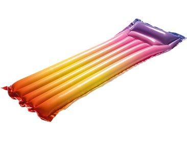 Bestway Luftmatratze Regenbogen, BxLxH: 54x170x15 cm Einheitsgröße gelb Wasserspielzeug Pools Planschbecken Garten Balkon