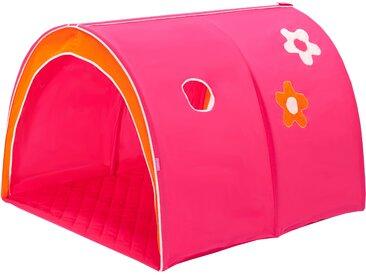 Hoppekids Spieltunnel Flowerpower / 200 cm pink Spielzelt Outdoor-Spielzeug
