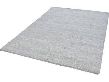 THEKO Wollteppich Taza Royal, rechteckig, 28 mm Höhe, echter Berber, reine Schurwolle, handgeknüpft, Wohnzimmer 4, 170x240 cm, grau Schlafzimmerteppiche Teppiche nach Räumen