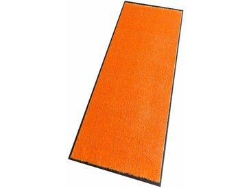 HANSE Home Läufer Deko Soft, rechteckig, 7 mm Höhe, Schmutzfangläufer, Schmutzfangteppich, Schmutzmatte, waschbar 19, 75x120 cm, orange Teppichläufer Bettumrandungen Teppiche