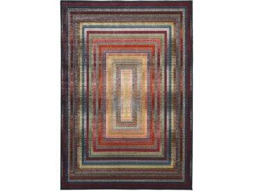 heine home Webteppich 4-Eck Muster effektvolles Farbspektrum...