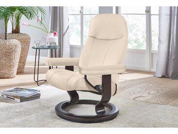 Stressless Relaxsessel Garda, mit Classic Base, Größe M, Gestell Wenge Leder BATICK, Fuß wengefarben beige Sessel
