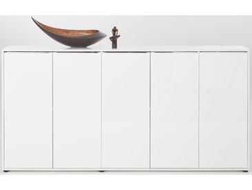 trendteam Kommode Nala 204x35x101 cm weiß Kommoden Garderoben Nachhaltige Möbel Sideboards
