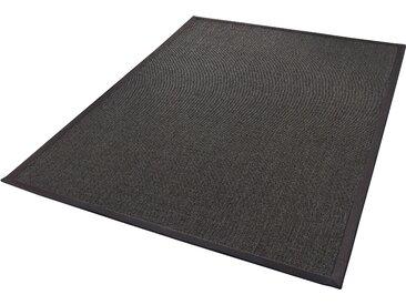 Dekowe Sisalteppich Mara S2 mit Bordüre, rechteckig, 5 mm Höhe, Flachgewebe, Obermaterial: 100% Sisal, Wohnzimmer B/L: 200 cm x 290 cm, 1 St. grau Teppiche