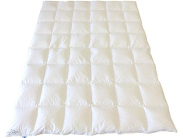 Gänsedaunenbettdecke, Bavaria, SANDERS OF GERMANY, Füllung: 100% Gänsedaunen weiß, 220x155 cm weiß Daunendecke Bettdecken Bettdecken, Kopfkissen Unterbetten Bettdecke