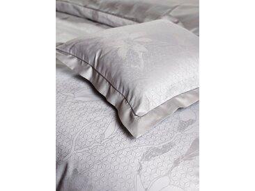 Bettbezug Magnolia CB1882 (1 Stck.) 1x 135x200 cm, Mako-Brokat-Satin grau Baumwollbettwäsche Bettwäsche nach Material Bettwäsche, Bettlaken und Betttücher Bettbezüge