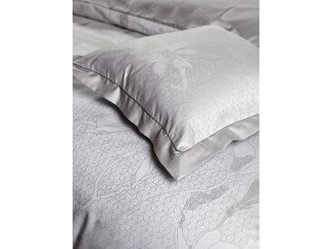 CB1882 Bettbezug Magnolia, (1 St.), Magnolienzweige B/L: 135 cm x 200 grau Baumwollbettwäsche Bettwäsche nach Material Bettwäsche, Bettlaken und Betttücher