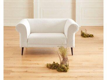 Guido Maria Kretschmer Home&Living 2-Sitzer Teddyka 0, Fellimitat, 150 cm beige Sofas Einzelsofas Couches