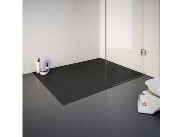 Schulte Duschwanne, rechteckig, BxT: 800 x 1200 mm Einheitsgröße grau Duschwannen Duschen Bad Sanitär