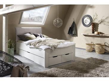 rauch ORANGE Stauraumbett Aditio, inklusive Kopfteil und Schubkästen 120x200 cm Höhe Bettseite: 50 cm, ohne Matratze weiß Doppelbetten Betten