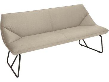 TOM TAILOR Sitzbank CUSHION, mit schmalem Metallgestell, Breite 184 cm B/H/T: x 83 65 cm, Samtstoff STC beige Tom Tailor Stühle und Sitzbänke Premium-Möbel