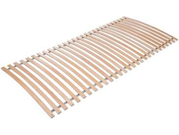 Jekatex Rollrost Basic Comfort, 28 Leisten, Kopfteil nicht verstellbar, Belastbar bis 150 kg B/L: 120 cm x 200 cm, mehrfarbig Lattenroste 120x200 nach Größen