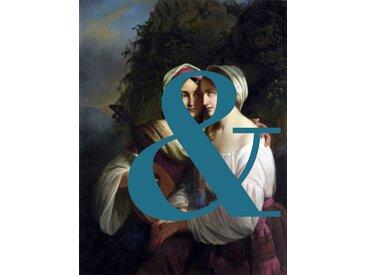 queence Acrylglasbild & B/H/T: 100 cm x 150 2,4 blau Acrylglasbilder Bilder Bilderrahmen Wohnaccessoires