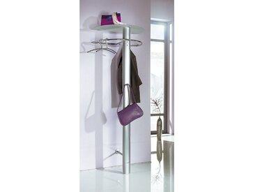 Garderobenstange Einheitsgröße silberfarben Garderobenpaneele Garderoben