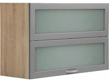 wiho Küchen Faltlifthängeschrank Flexi Einheitsgröße braun Hängeschränke Küchenschränke Küchenmöbel Schränke