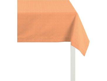 APELT Tischdecke 3944 UNI BASIC, (1 St.) B/L: 140 cm x 250 orange Tischdecken Tischwäsche
