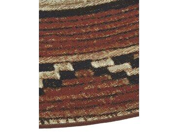 Teppich für In-und Outdoor 5, ca. 200 cm, rund beige Runde Teppiche Weitere