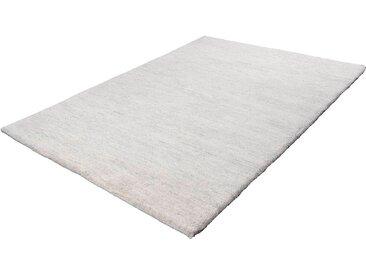THEKO Wollteppich Maloronga Uni, rechteckig, 24 mm Höhe, echter Berber, reine Wolle, Wohnzimmer B/L: 90 cm x 160 cm, 1 St. gelb Esszimmerteppiche Teppiche nach Räumen
