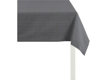 APELT Tischdecke 3944 UNI BASIC, (1 St.) B/L: 140 cm x 250 schwarz Tischdecken Tischwäsche