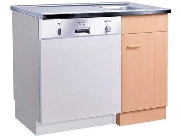 HELD MÖBEL Spülenschrank Elster, für Unterbau-Geschirrspüler, ohne Möbelfront B/H/T: ca. 100/60/85 cm 100 x 82 60 (B H T) cm, 1-türig beige Spülenschränke Küchenschränke Küchenmöbel Schränke