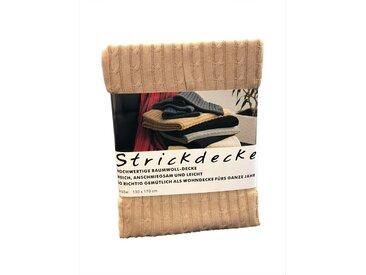 Plaid grace grand spa 130x170 cm, Baumwolle gelb Baumwolldecken Decken Wohndecken
