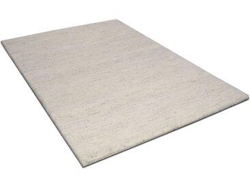 THEKO Wollteppich Amravati, rechteckig, 28 mm Höhe, reine Wolle, echter Berber, handgeknüpft, Wohnzimmer 2, 70x140 cm, beige Schlafzimmerteppiche Teppiche nach Räumen