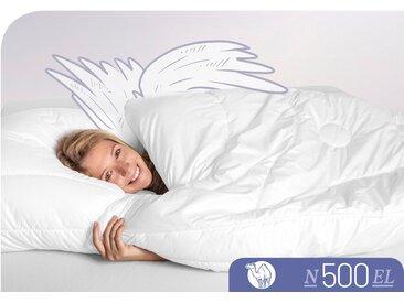 Schlafstil Naturhaarbettdecke N500, extraleicht, (1 St.), hergestellt in Deutschland, allergikerfreundlich B/L: 200 cm x cm, extraleicht weiß Allergiker Bettdecke Bettdecken Bettdecken, Kopfkissen Unterbetten