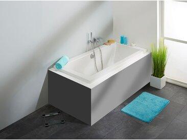 OTTOFOND Eckwanne Cubic, mit Wannenträger und Ablaufgarnitur Einheitsgröße weiß Badewannen Whirlpools Bad Sanitär