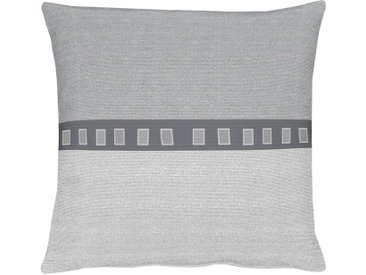 APELT Dekokissen Milano B/L: 48 cm x cm, 1 St. grau Kissenbezüge gemustert Kissen