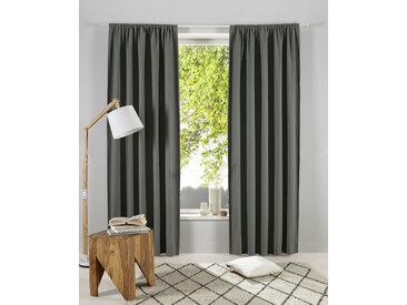 OTTO products Gardine Lasse 145 cm, Stangendurchzug, 140 cm grün Blickdichte Vorhänge Gardinen