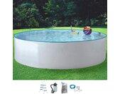 MyPool Rundpool Standard, (Set), Ø 300 cm x 90 Ø/B/H/L: Breite Höhe Länge, 6000 l weiß Swimmingpools Pools Planschbecken Garten Balkon