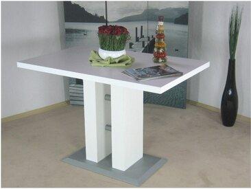 Säulen-Esstisch Luxor 0, Einheitsgröße braun Esstische quadratisch Tische Tisch