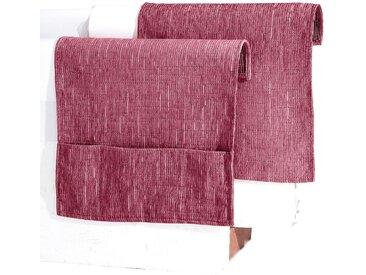 Wohnprogramm, Dohle + Menk 1 (60x200 cm Sessel- oder Sofaläufer) rot Sesselschoner Hussen Überwürfe Decken