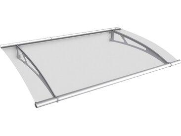 GUTTA Pultvordach Edelstahl, BxT: 150x95 cm B/H/T: 150 x 17 95 silberfarben Haustür-Vordächer Türen Bauen Renovieren