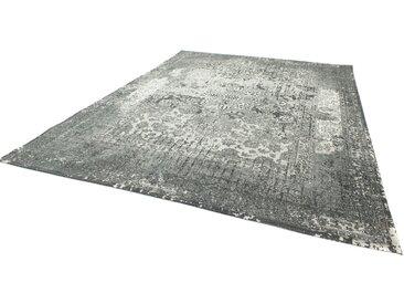 morgenland Teppich Vintage Manhattan, rechteckig, 6 mm Höhe, Design B/L: 170 cm x 240 cm, 1 St. silberfarben Kurzflor-Teppiche Weitere Teppiche