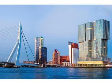 Places of Style Acrylglasbild Stadt 120x80 cm, bunt Acrylglasbilder Bilder Bilderrahmen Wohnaccessoires