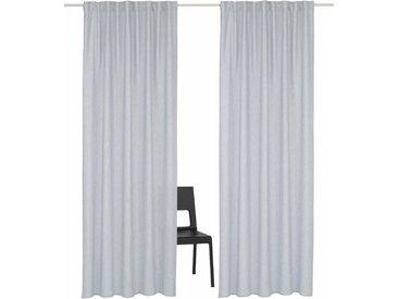 Home affaire Vorhang Lazy 245 cm, Multifunktionsband, 135 cm grau Wohnzimmergardinen Gardinen nach Räumen Vorhänge