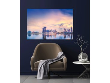 queence Acrylglasbild Skyline London 150x100 cm bunt Acrylglasbilder Bilder Bilderrahmen Wohnaccessoires