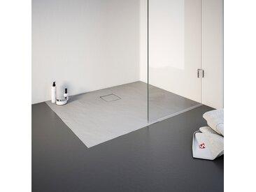Schulte Duschwanne, rechteckig, BxT: 900 x 1000 mm Einheitsgröße grau Duschwannen Duschen Bad Sanitär