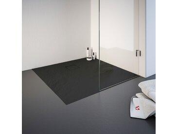 Schulte Duschwanne, quadratisch, BxT: 1000 x mm Einheitsgröße grau Duschwannen Duschen Bad Sanitär
