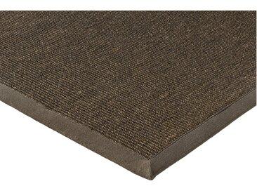 Sisalteppich uni Farben 4, ca. 170/230 cm braun Schlafzimmerteppiche Teppiche nach Räumen