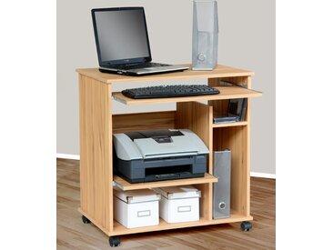 Computertisch Compi Tischplatte: Holzwerkstoff, Gestell: Holzwerkstoff beige Computertische Bürotische und Schreibtische Büromöbel Tisch