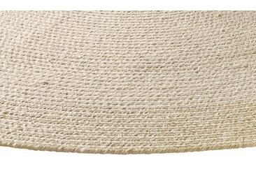 Teppich für In-und Outdoor 3, ca. 200 cm, rund beige Runde Teppiche Weitere