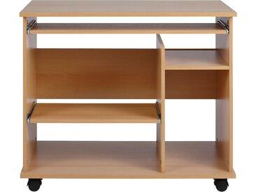 Computertisch Compi B/H/T: 90 cm x 76 50 beige Computertische Bürotische und Schreibtische Büromöbel