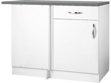 wiho Küchen Unterschrank Peru Einheitsgröße weiß Unterschränke Küchenschränke Küchenmöbel Schränke