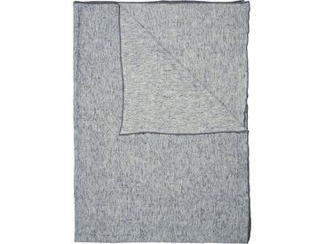 Marc O'Polo Home Plaid Arez, mit Bordüre B/L: 150 cm x 200 grau Baumwolldecken Decken