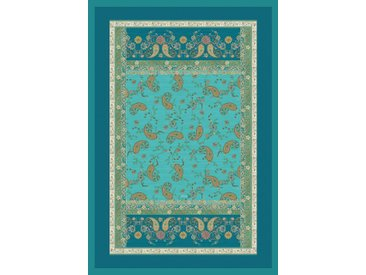 Plaid Raffaello, Bassetti 135x190 cm, Baumwolle blau Baumwolldecken Decken Wohndecken