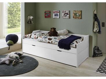 Relita Funktionsbett Lilly, mit Bettschublade, nutzbar als 2. Liegefläche, wahlweise Matratze Liegefläche B/L: 90 cm x 200 Betthöhe: 50 cm, kein Härtegrad, ohne weiß Funktionsbetten Betten Schlafzimmer