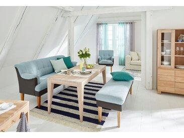Guido Maria Kretschmer Home&Living Küchensofa Luunja, in 2 Breiten klein blau Polsterbänke Sitzbänke Stühle
