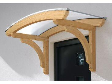 Skanholz Rundbogenvordach Rostock, BxT: 174x80 cm B/H/T: 174 x 93 80 beige Haustür-Vordächer Türen Bauen Renovieren